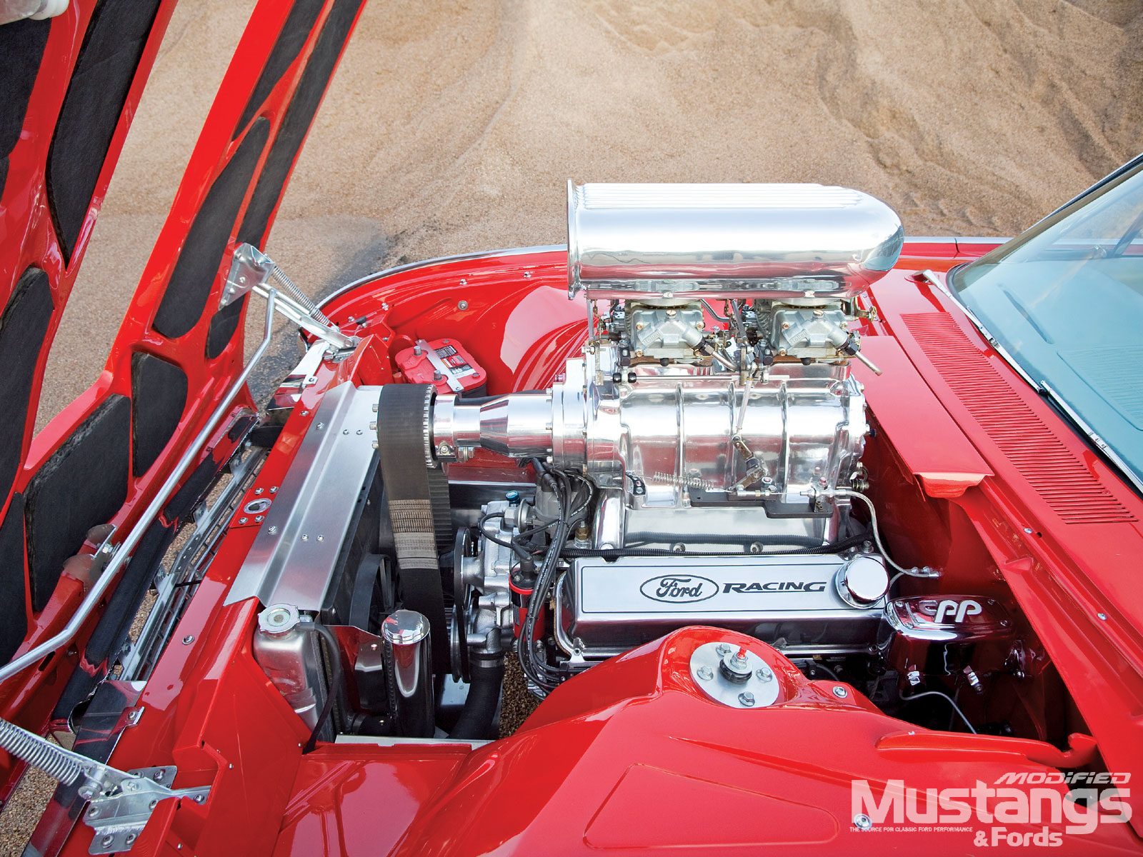 1961 Ford Thunderbird Engine