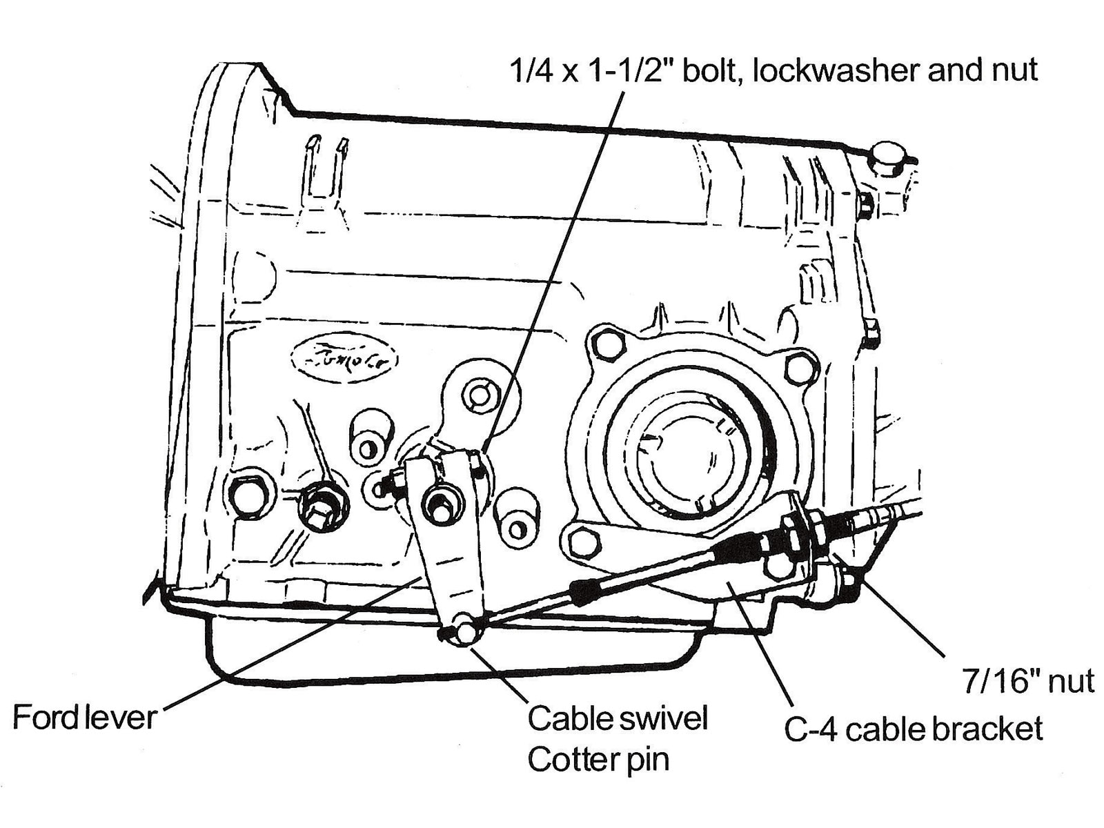 1967 Ford Fairlane 500 Hardtop Diagram