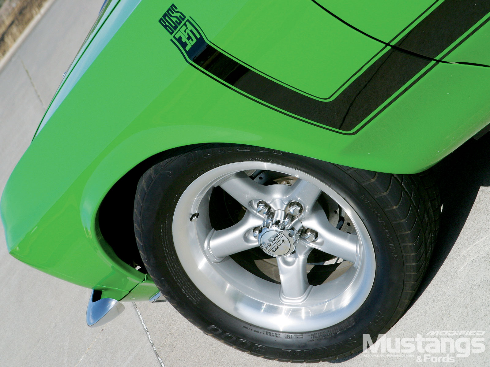 1969 Ford Mustang Mach 1 Wheel And Tires