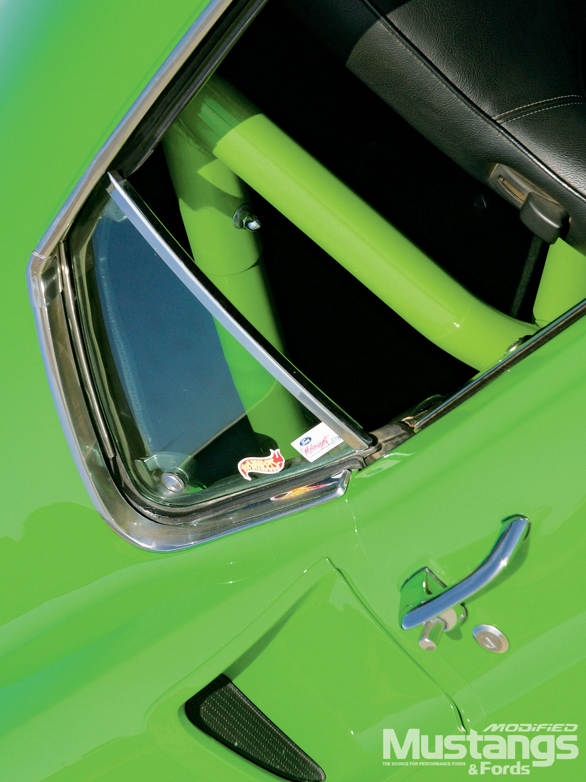 1969 Ford Mustang Mach 1 Side Window