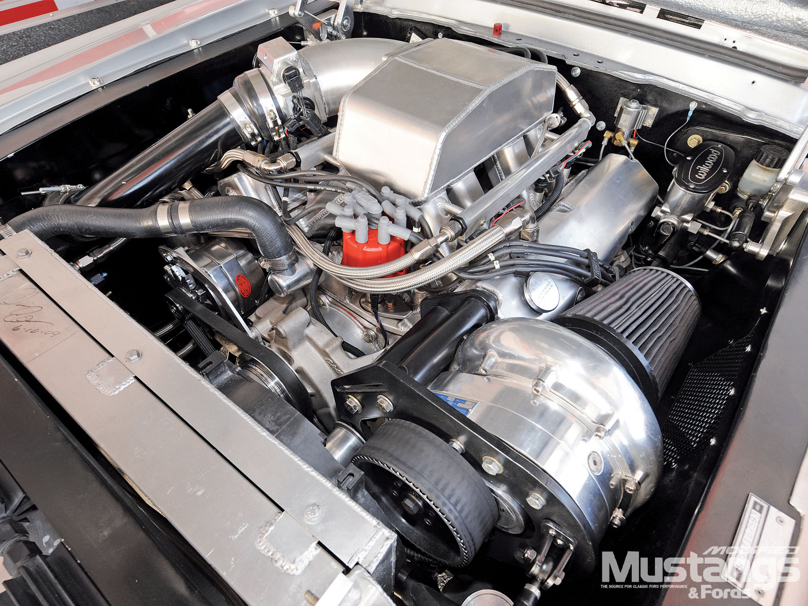 1968 Ford Mustang Fastback Engine