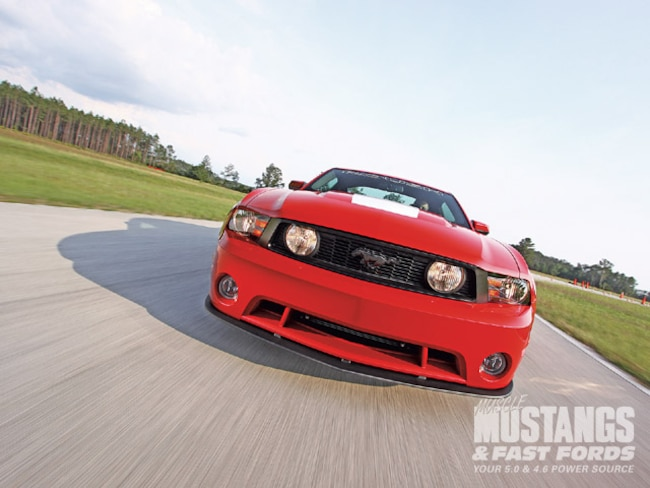 Mmfp 0909 01 Z 2010 Roush 427r Mustang Front View