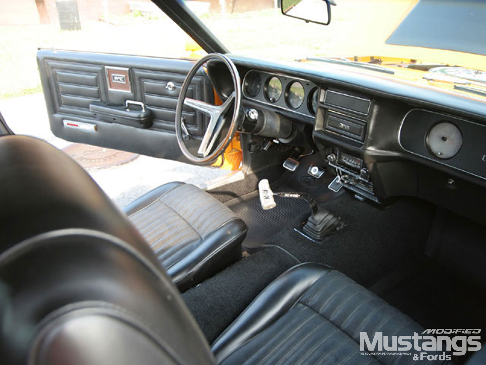 1970 Mercury Cougar Eliminator Dash