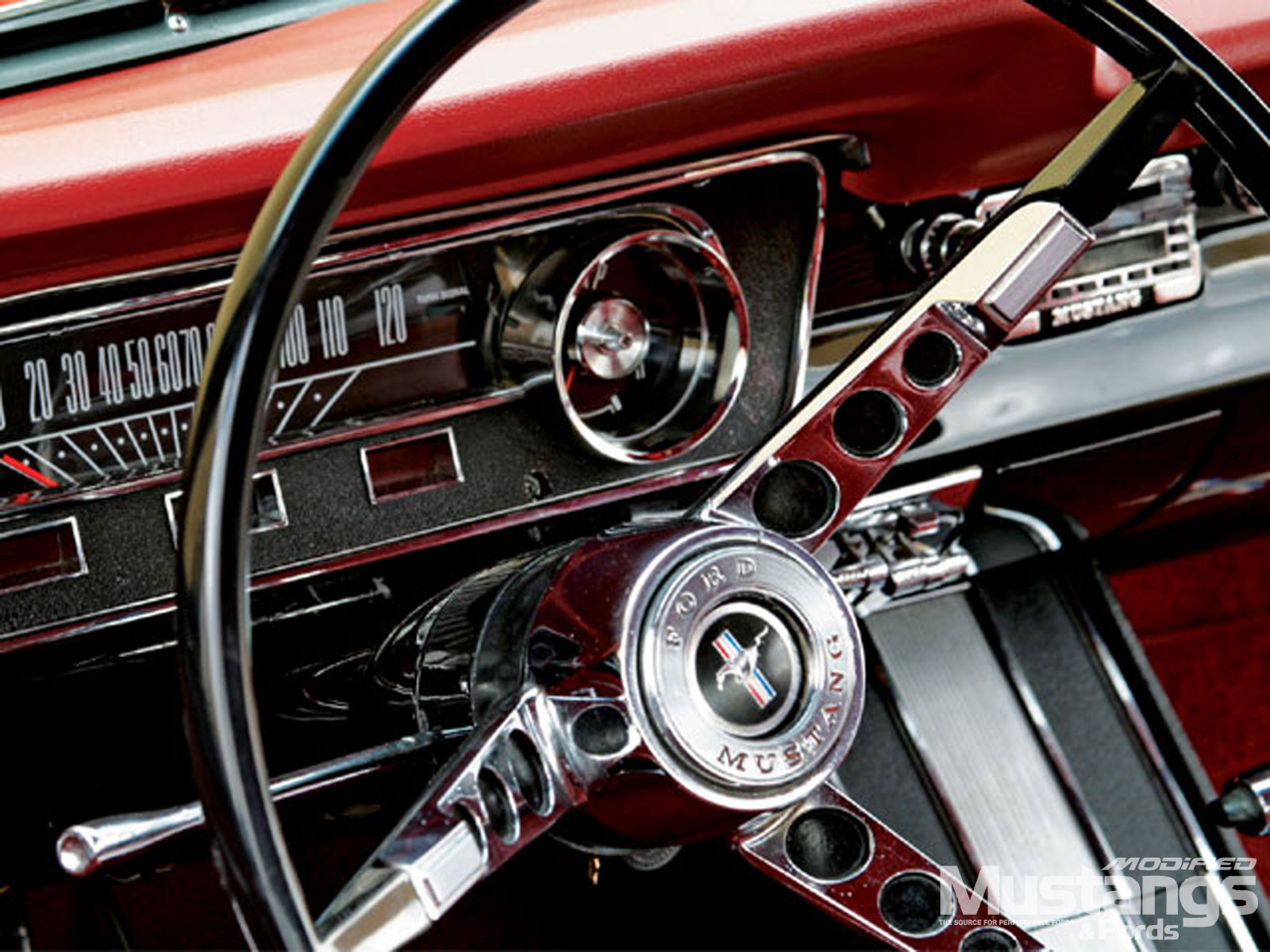 1964 Ford Mustang Hardtop Steering Wheel