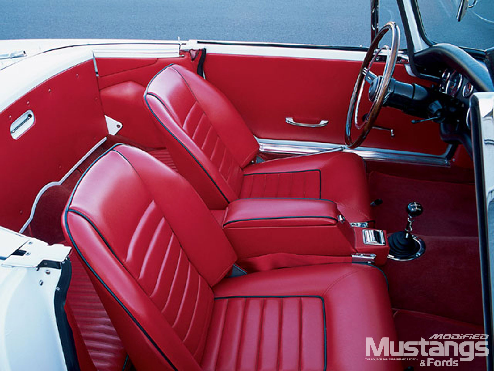 1964 Sunbeam Tiger Mk 1 Red Leather Seats