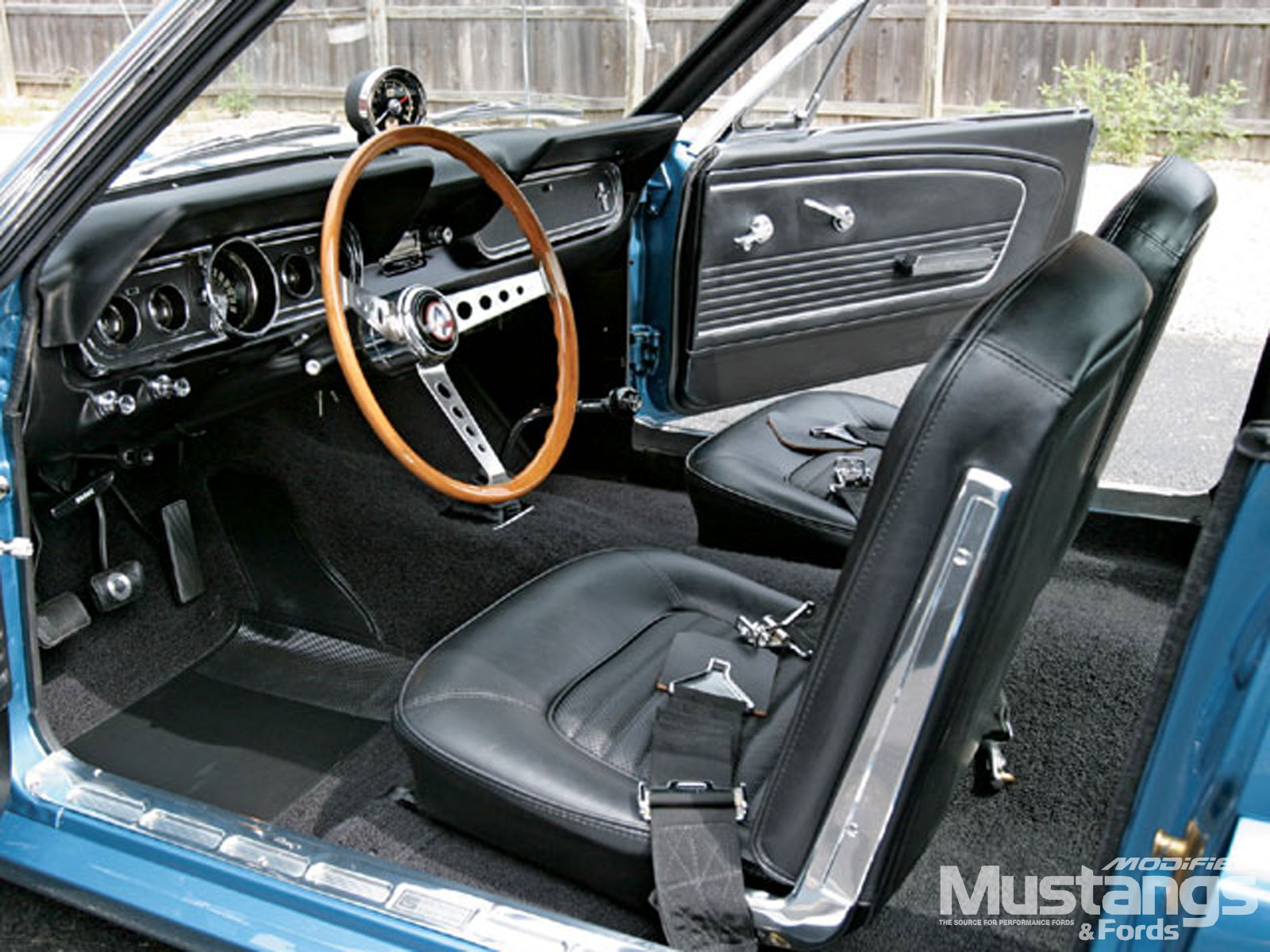 1966 Ford Shelby Gt350 Fastback Interior
