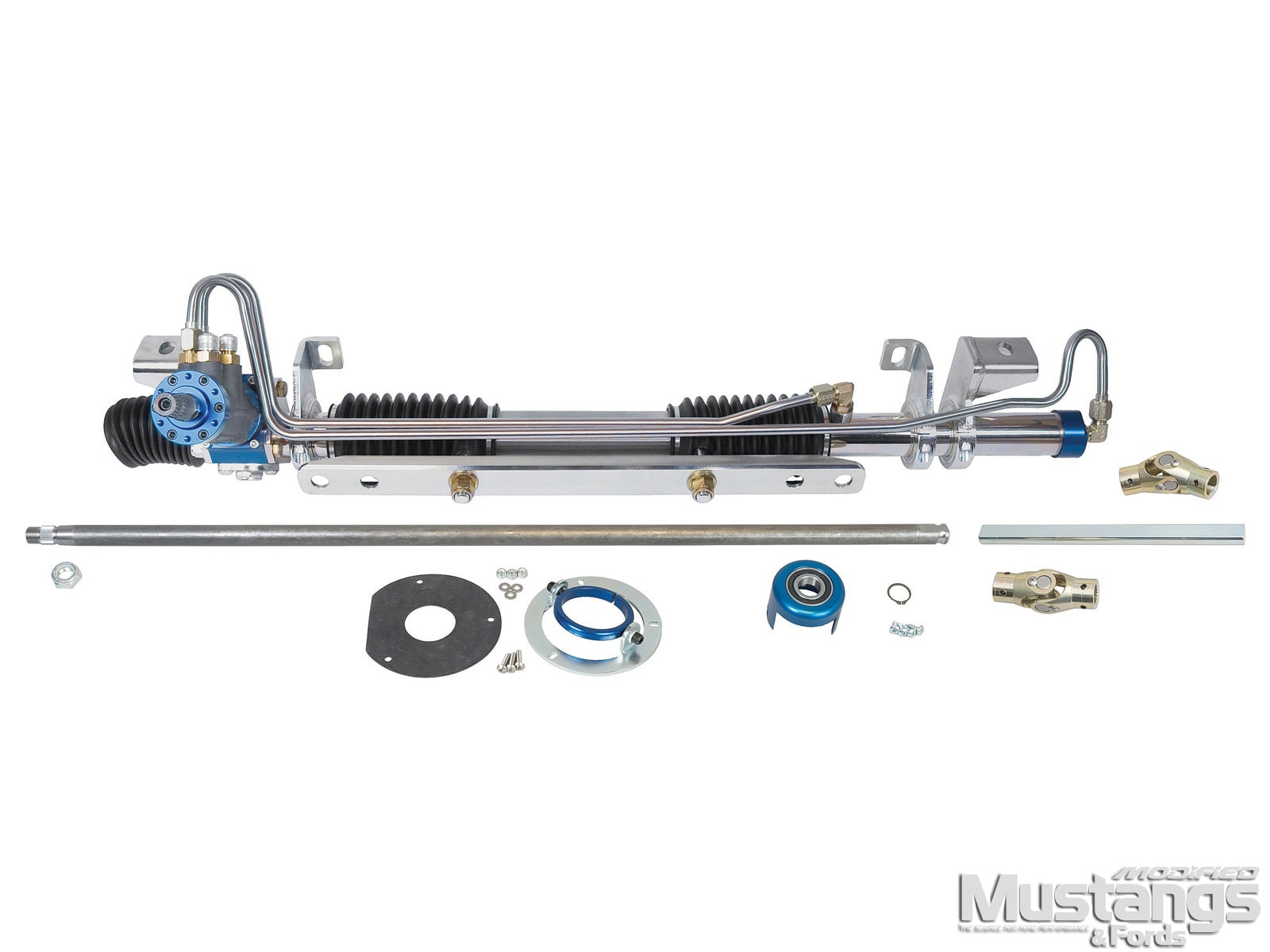 Mdmp 1101 01  Classic Ford Tcp Steering Upgrade  Full Kit