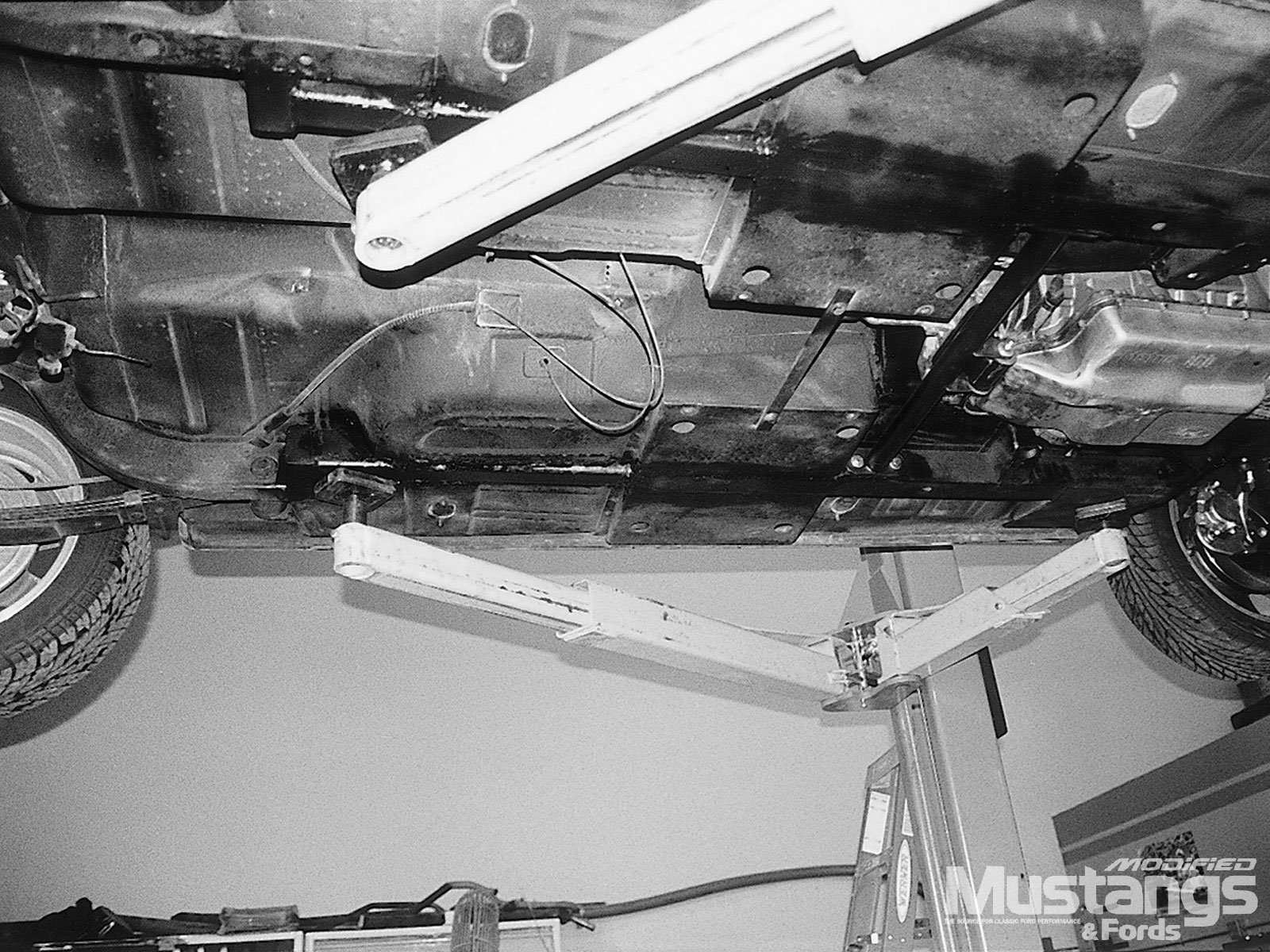 Lightening Strikes 1965 Mustang Convertible  Subframe Connectors