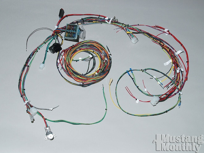 [DIAGRAM_4PO]  1965-1968 Ford Mustang Wiring System Upgrades - Mustang Monthly Magazine | Fox Body Wiring Harness Painless |  | Mustang 360