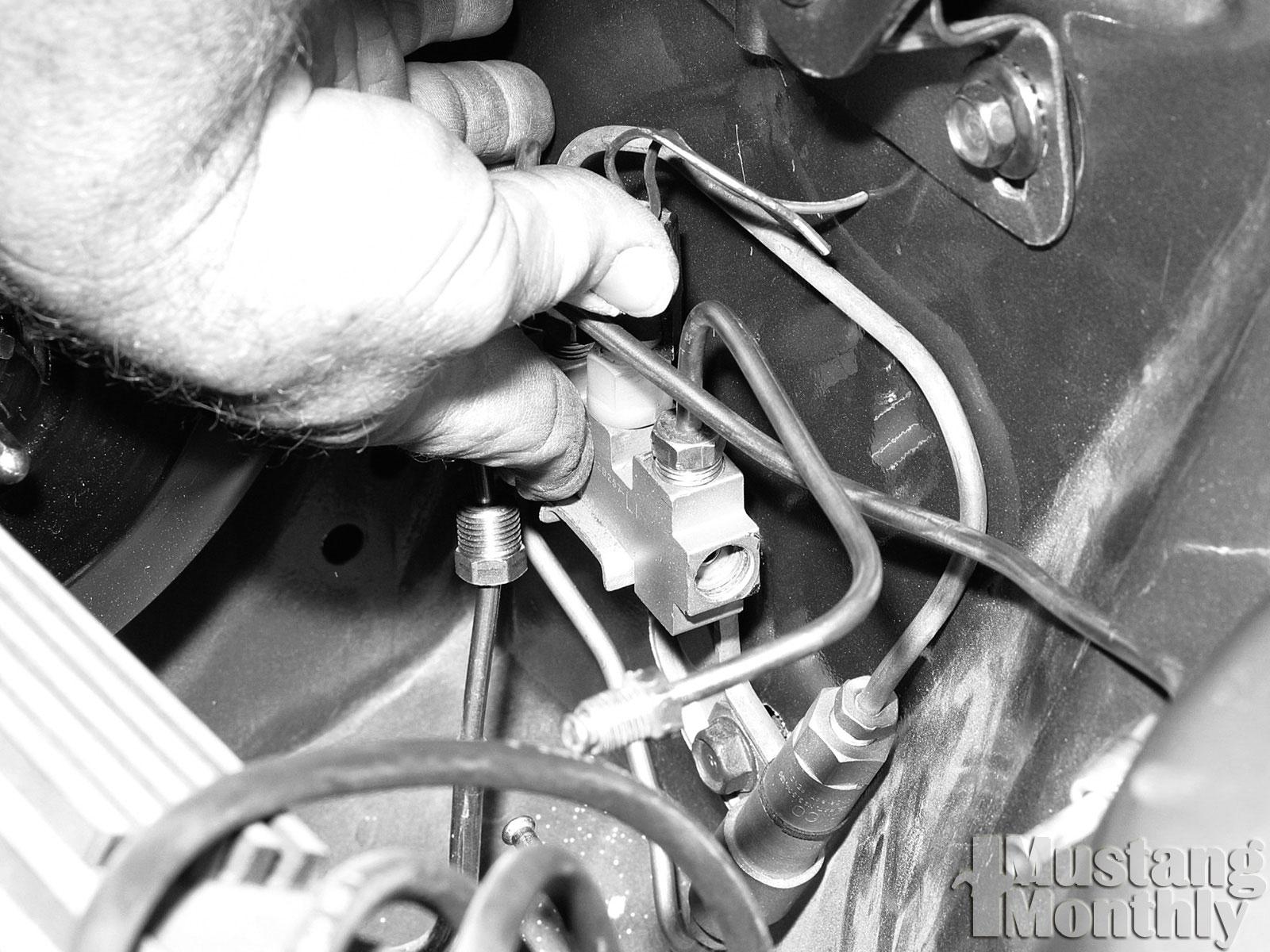 Mump 0308 16  Install Power Brake Booster  Reinstalled Distribution Block