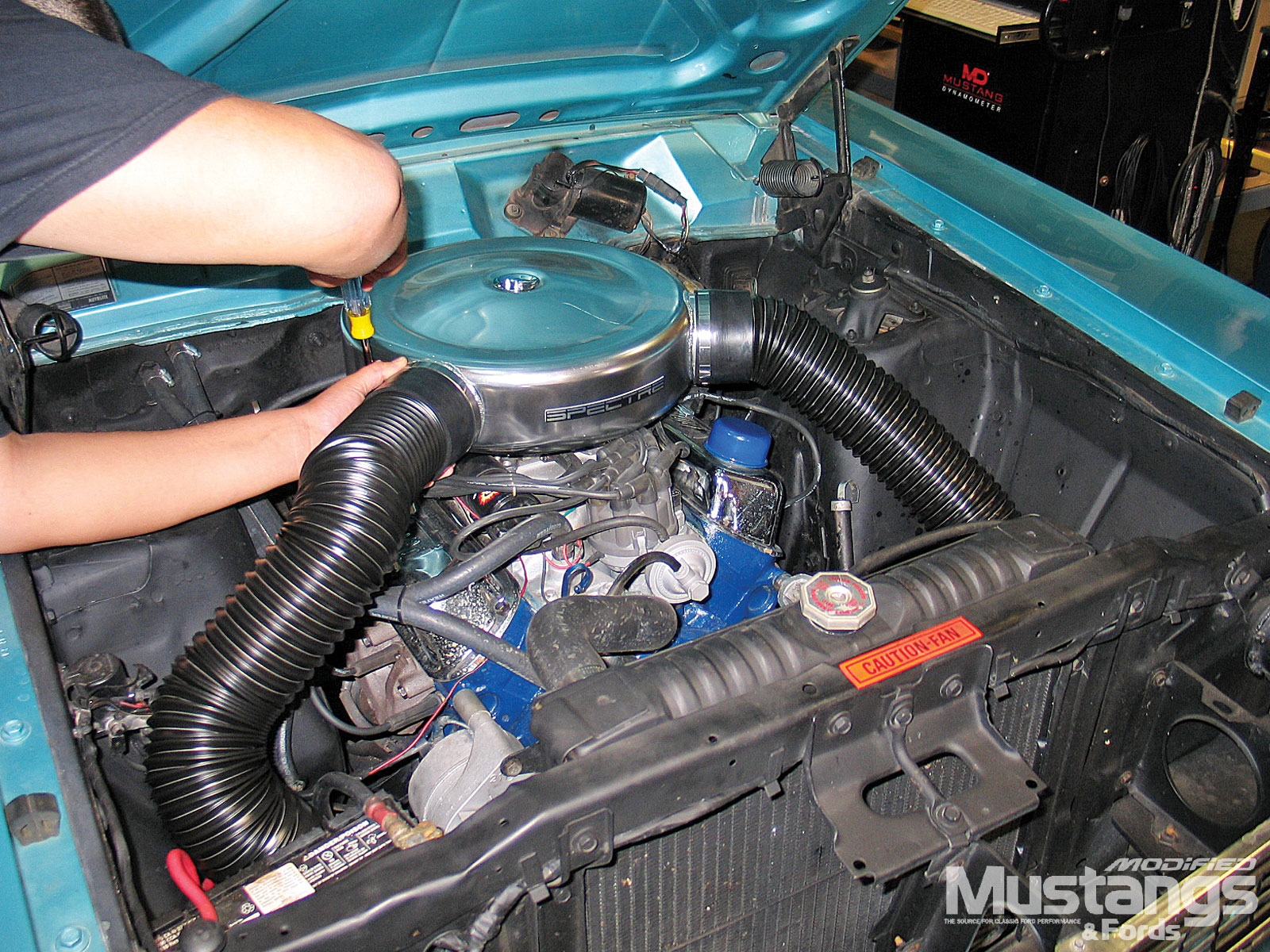 1968 Ford Torino Gt Spectre Flexible Air Ducting