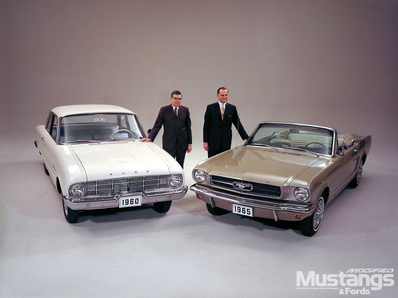 Ford Falcon Don Frey An Lee Iacocca
