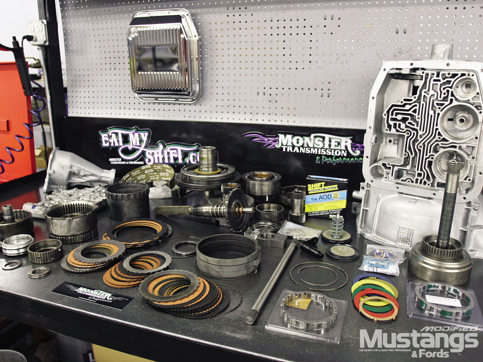 Monster Aod Transmission Installation  New Transmission Kit