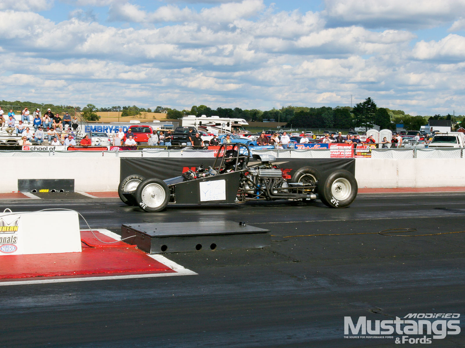 Nmra Y Block Shootout  Dragster