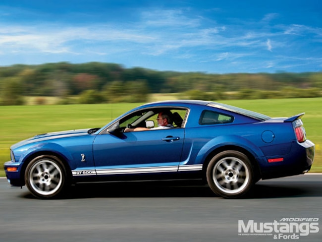 Mdmp 0701 01 Z 2007 Shelby Mustang GT500 Sideview