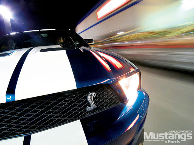 2007 Shelby Mustang GT500 Headlights