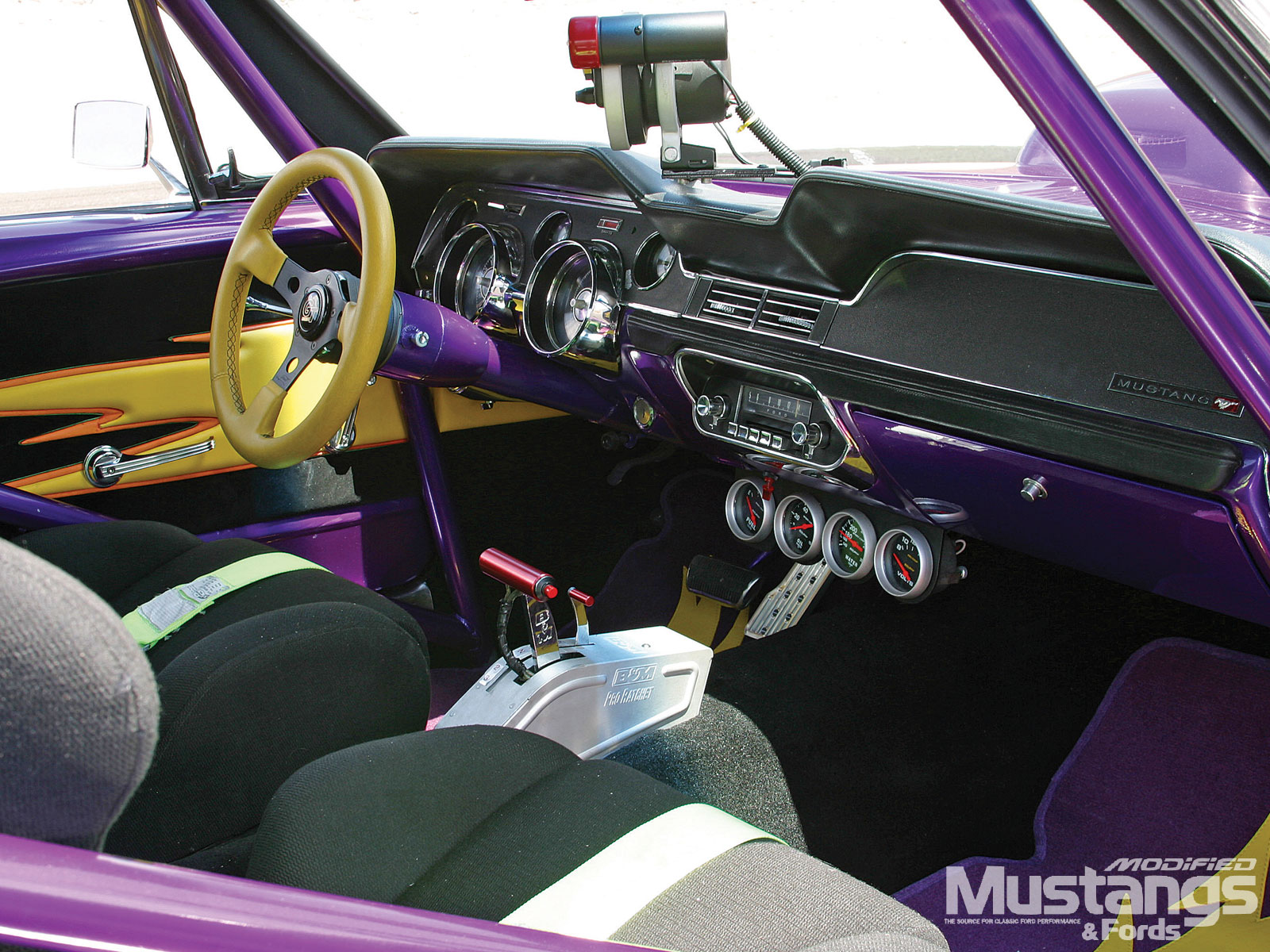 1967 Ford Mustang Coupe Interior