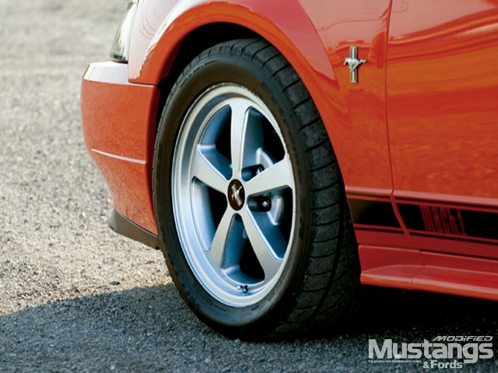 2003 Ford Mustang Mach 1 Wheels