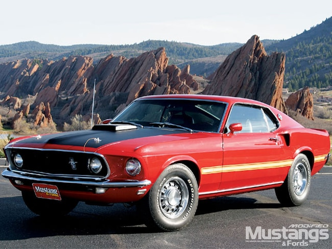 Mdmp 0706 01 Z 1969 Ford Mustang Mach 1 Front View