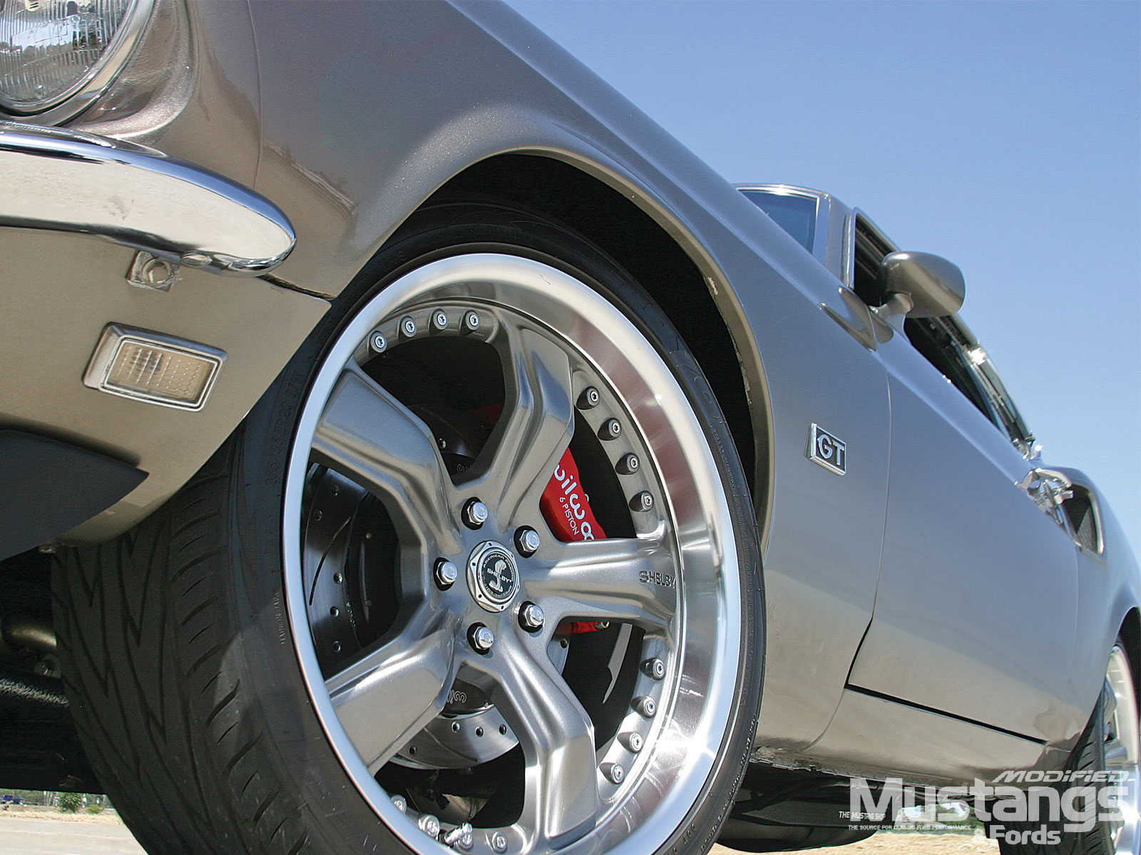 1969 Ford Mustang Gt Sportsroof Wheels And Tires