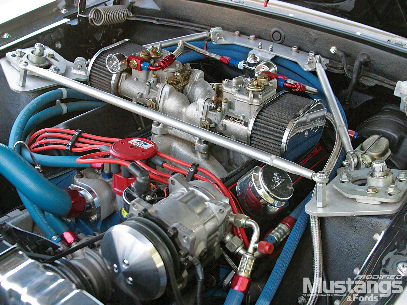 1969 Ford Mustang Gt Sportsroof Engine 3