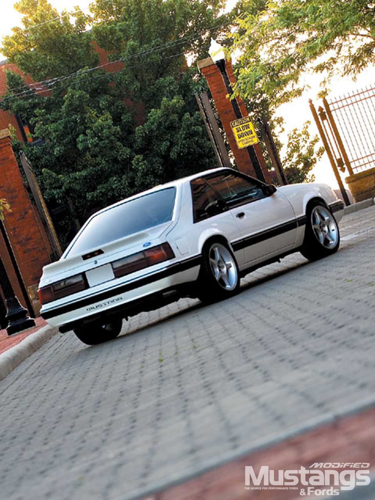 1991 Ford Mustang Lx Backview
