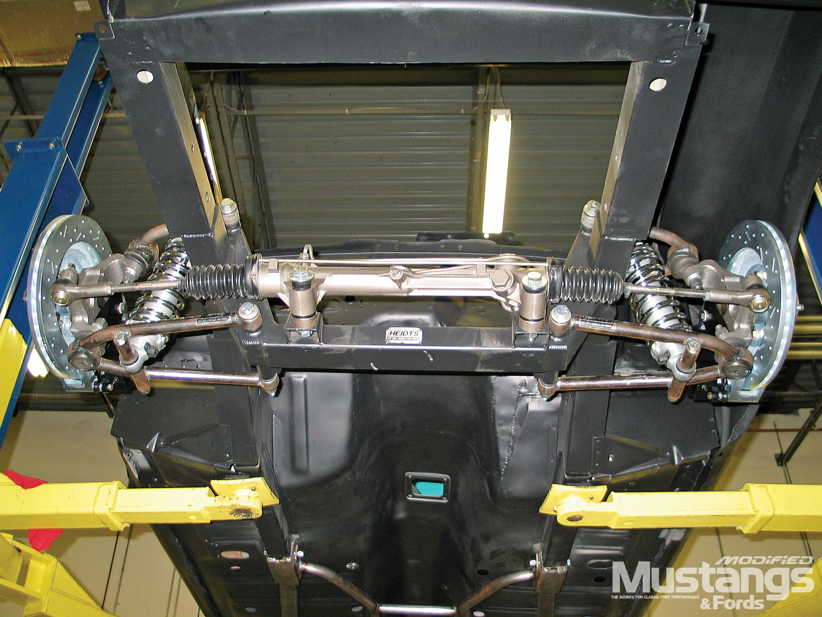 1968 Ford Mustang Front Suspension