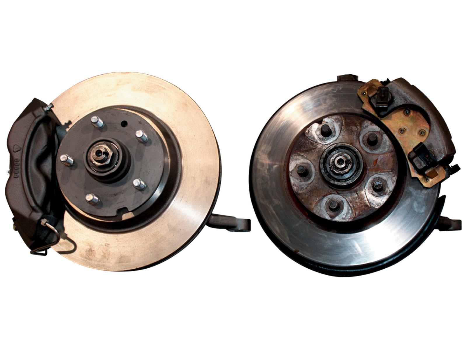 1969 Ford Mustang Boss 302 Trans Am Brake Swap Front Brakes Comparison
