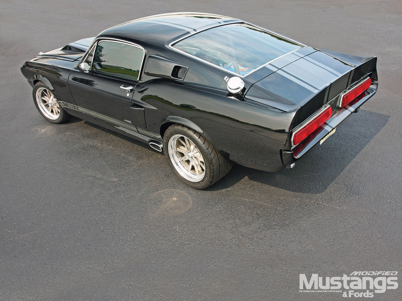 1967 Ford Mustang Fastback Driver Side Rear