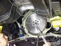 Mdmp_1011_07_o 1969_ford_mustang_t5_transmission_swap Modern_driveline_flywheel_install