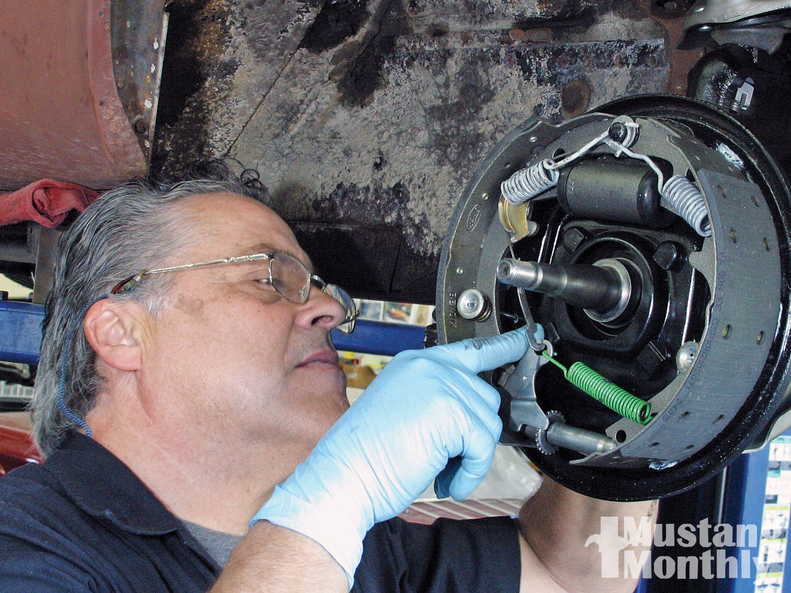 Mump 1103 01 O How To Maximize Drum Brakes Drum Brake Removed