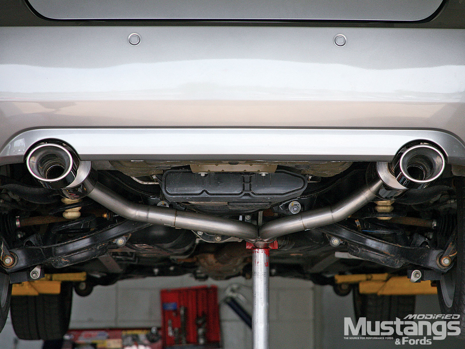 Install Borla Exhaust System Exhaust Pipe Tips