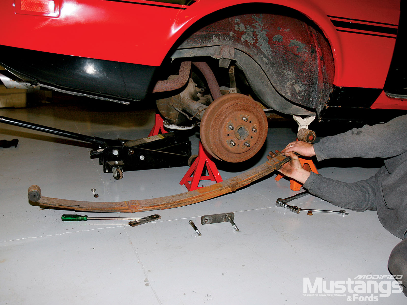 Mustangs Plus Super Starter Kit Install Rotor