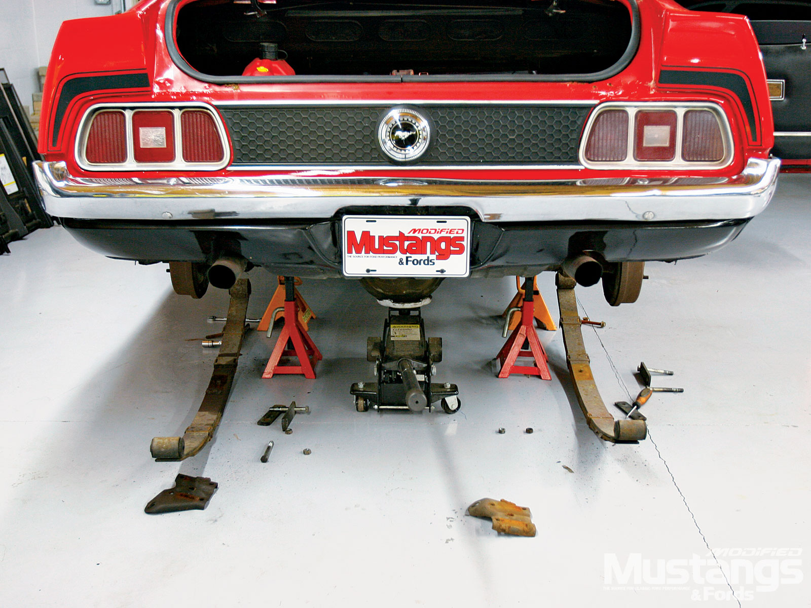 Mustangs Plus Super Starter Kit Install Mustang Rear End