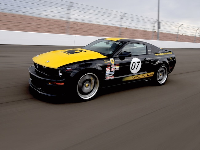 Mmfp 0912 01  2007 Shelby Terlingua Mustang Front Angle