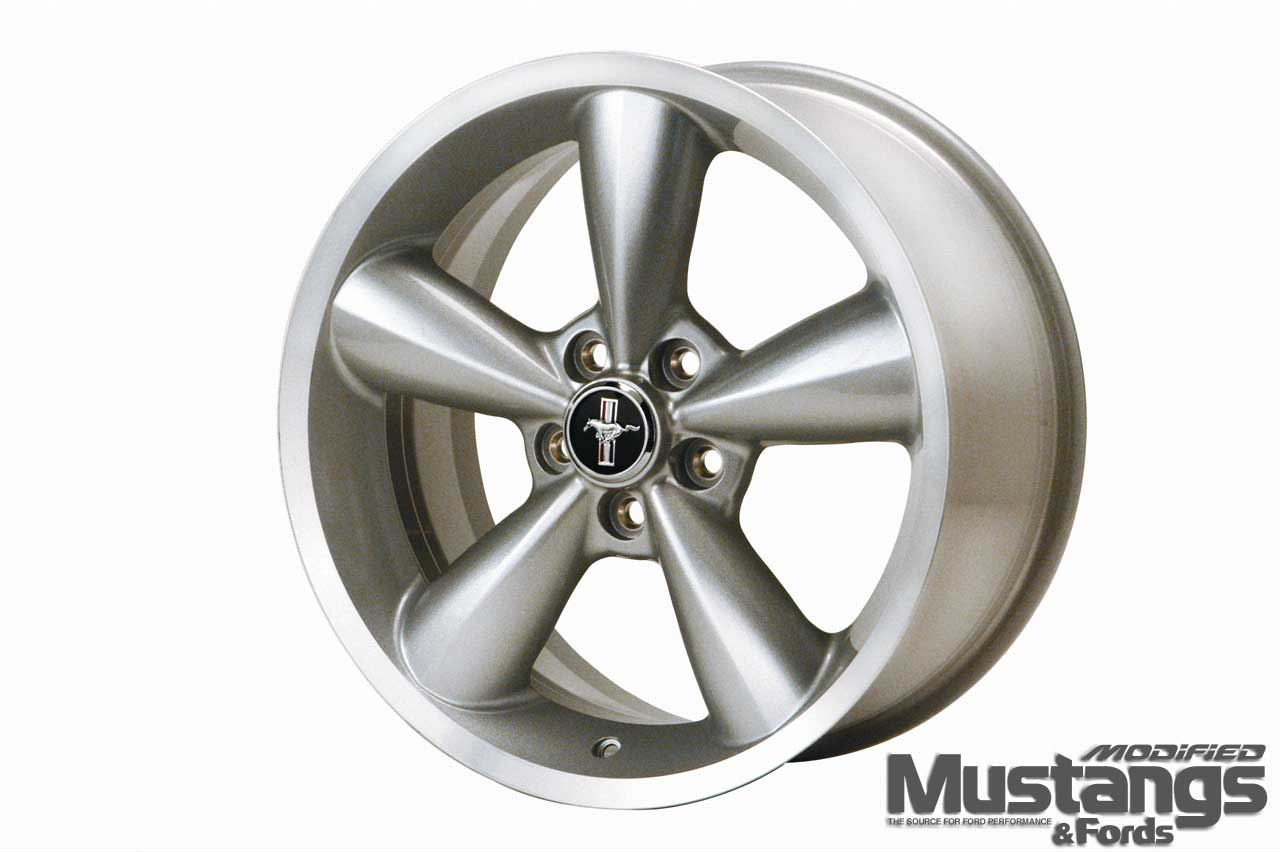 Ford Racing Performance Parts Wheels Silver Wheel