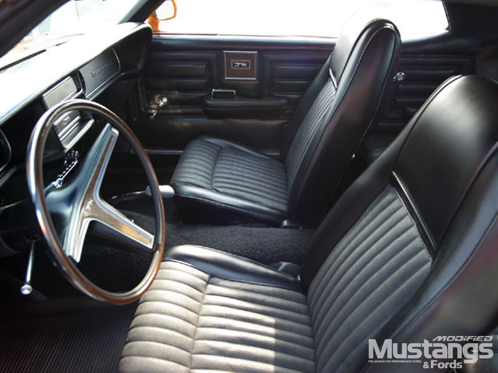 1970 Mercury Cougar Eliminator Interior