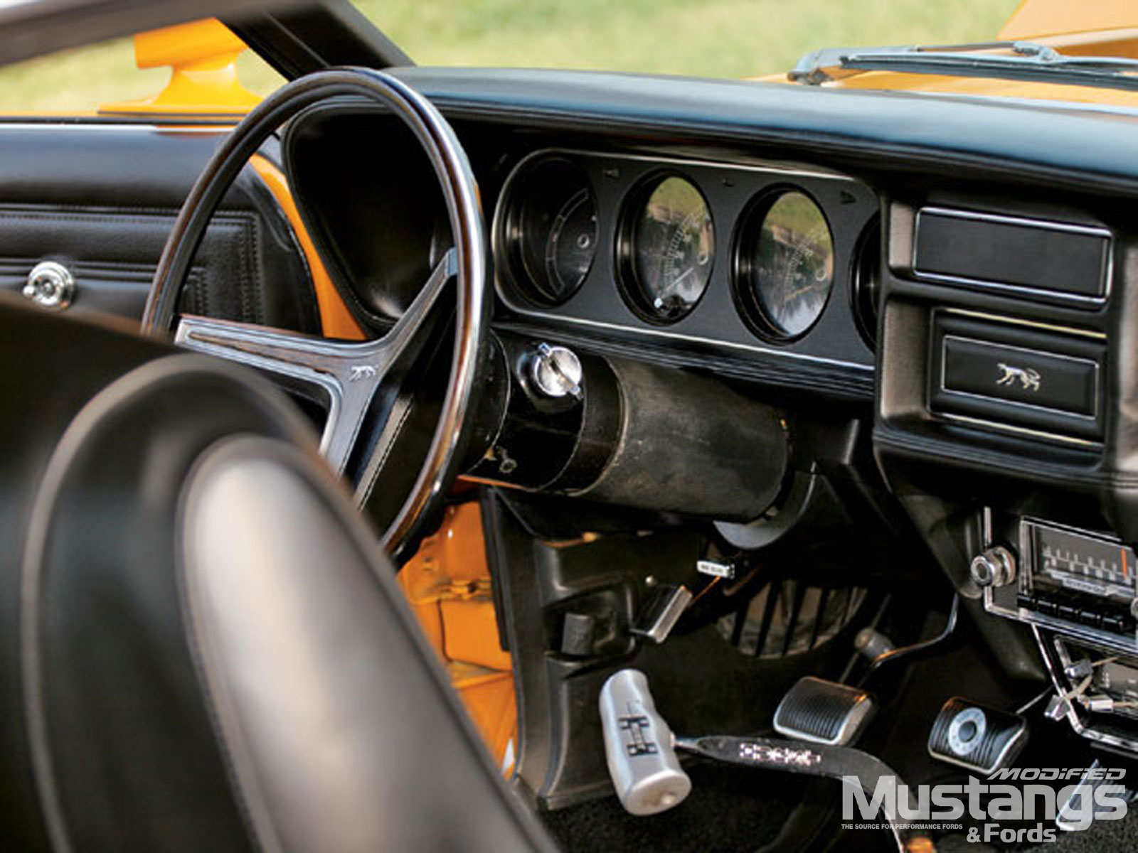 1970 Mercury Cougar Eliminator Gauges
