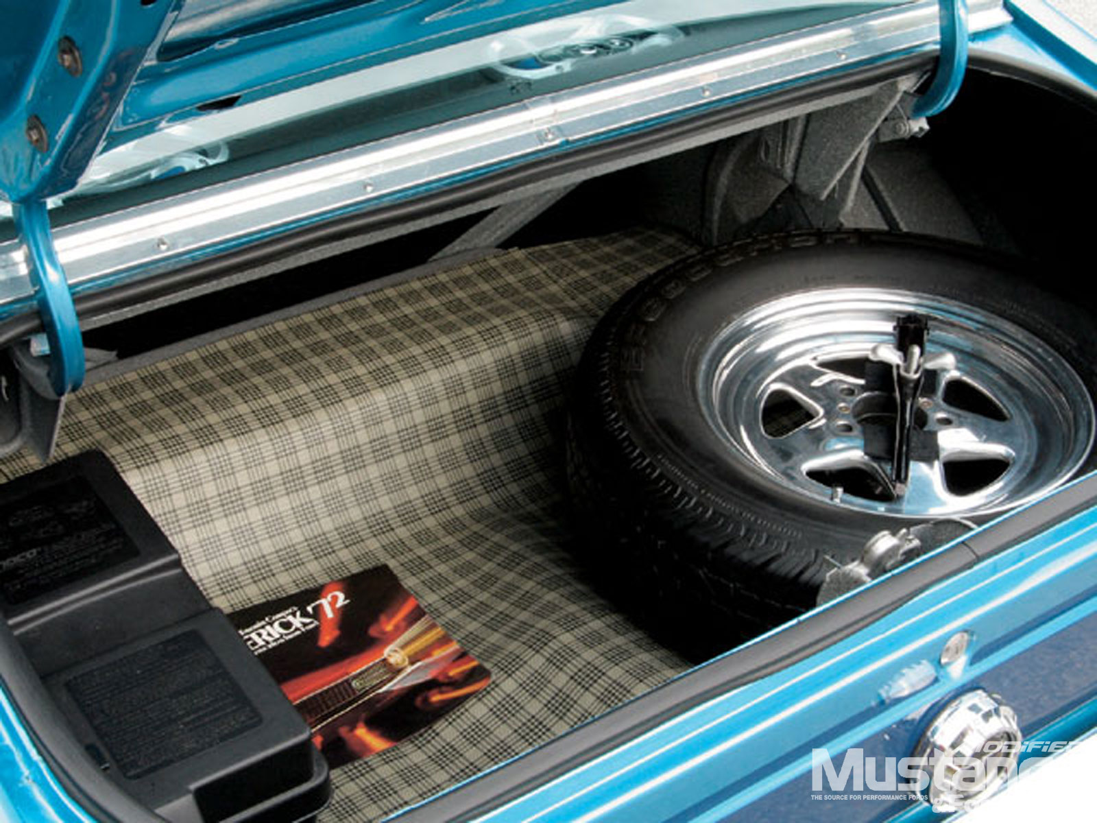 1972 Ford Maverick Grabber Trunk