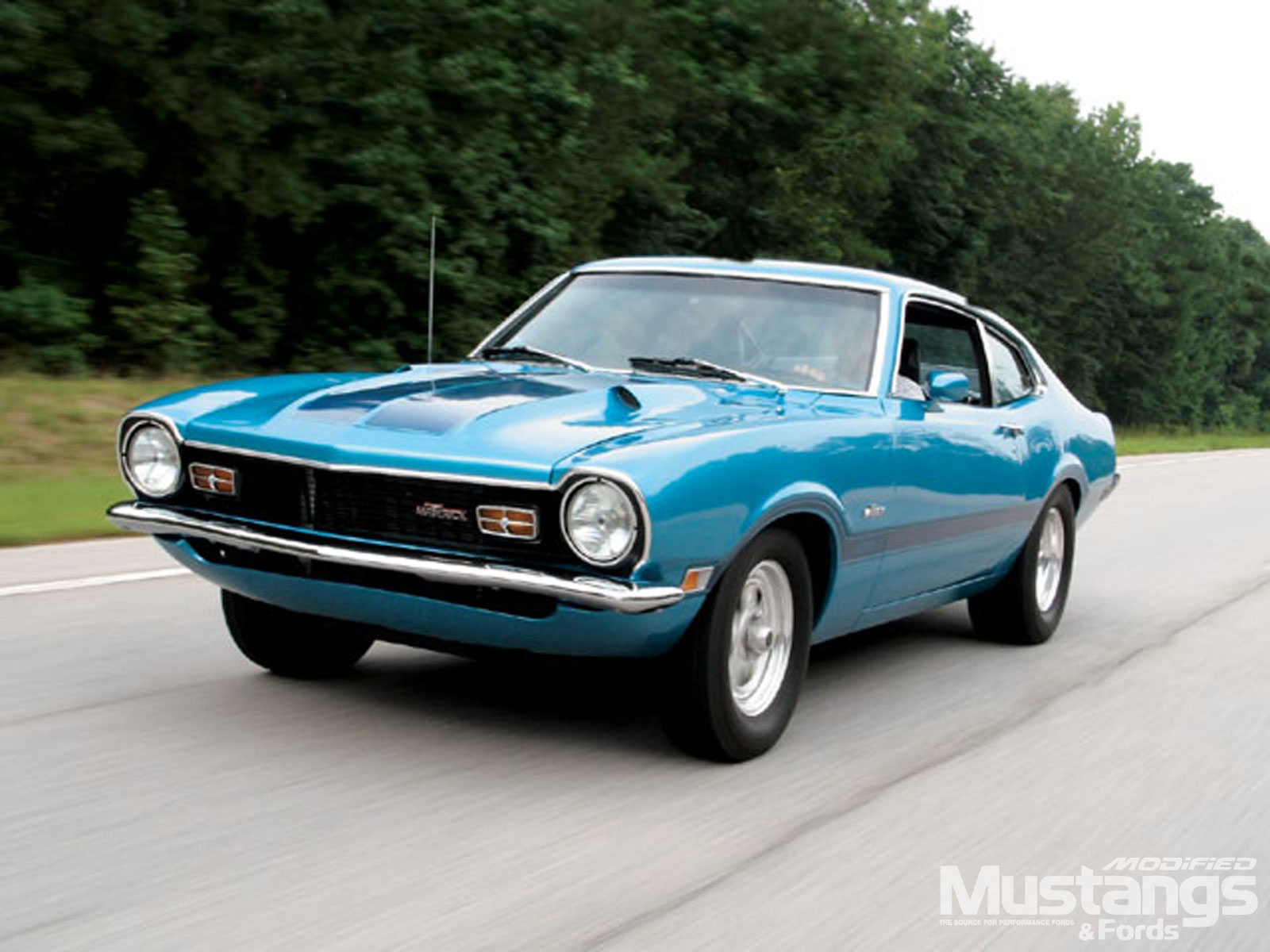 1972 Ford Maverick Grabber Front View