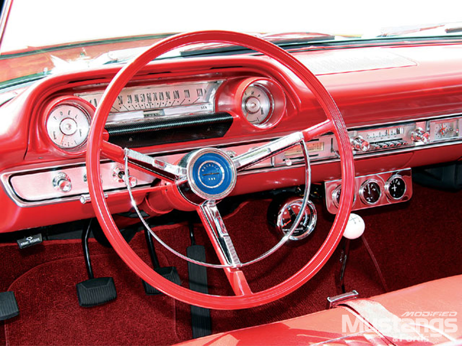 1964 Ford Galaxie Steering Wheel