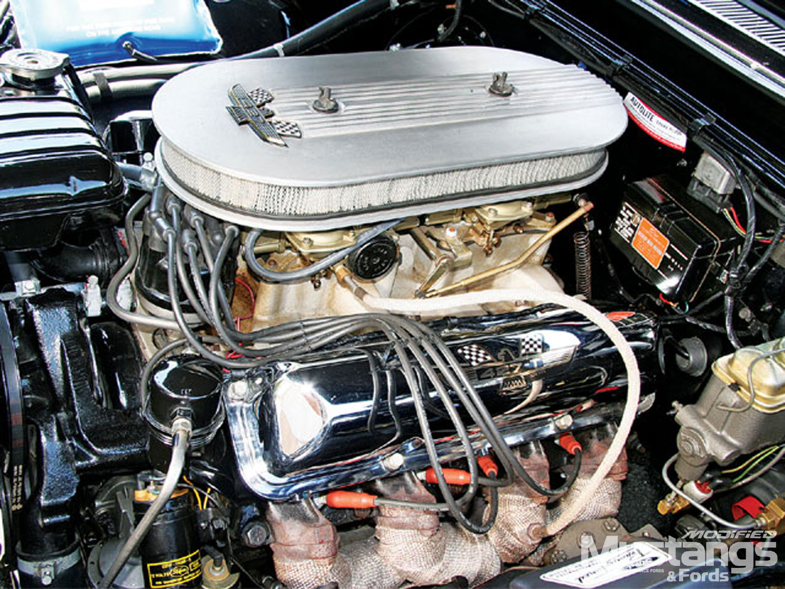 1964 Ford Galaxie Engine
