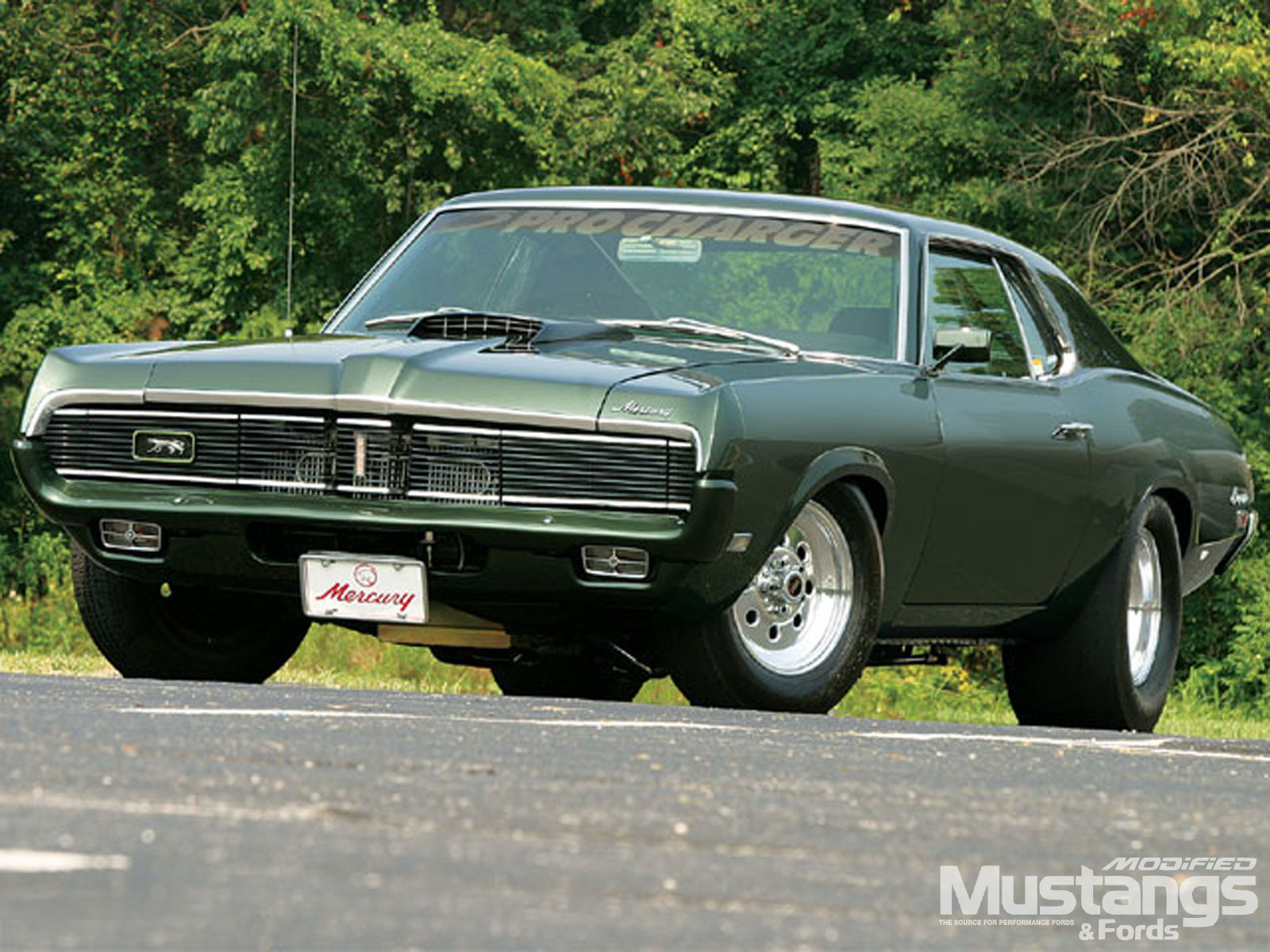 1969 Mercury Cougar Front View