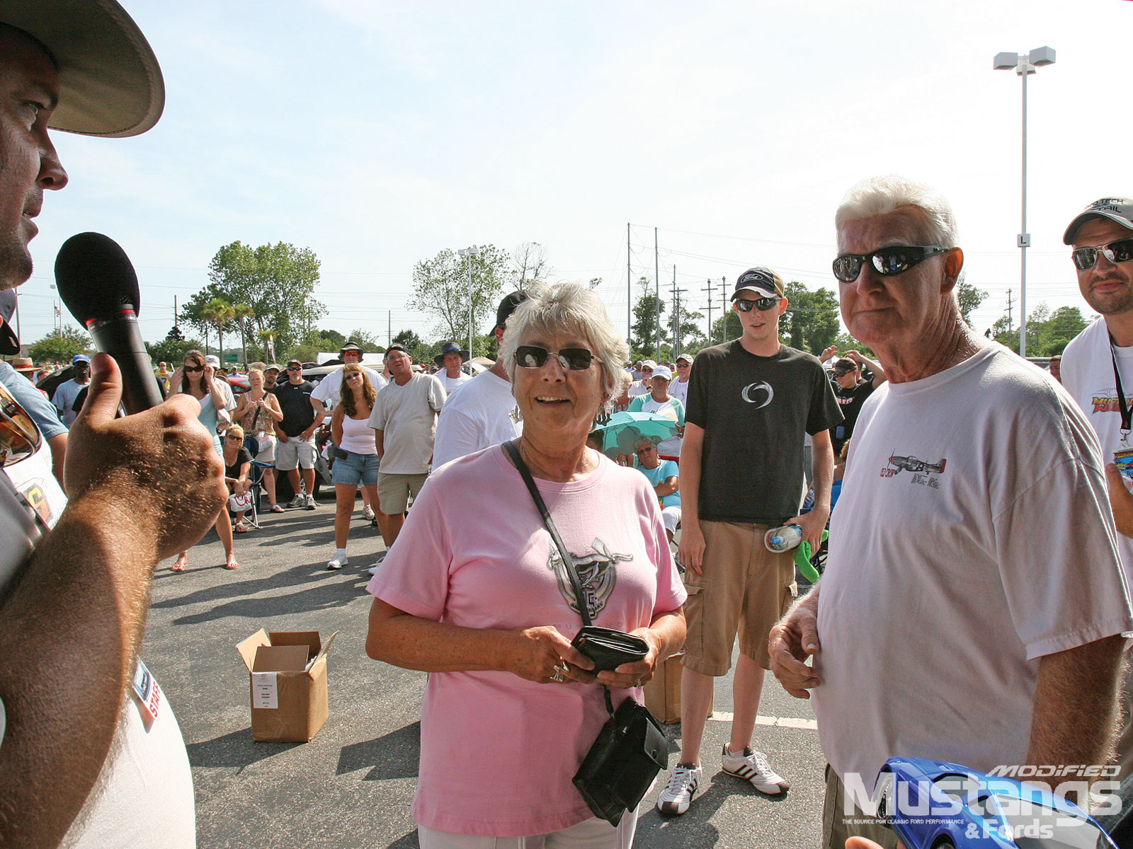 Mustang Week 2010 Bernie And Grace Burl
