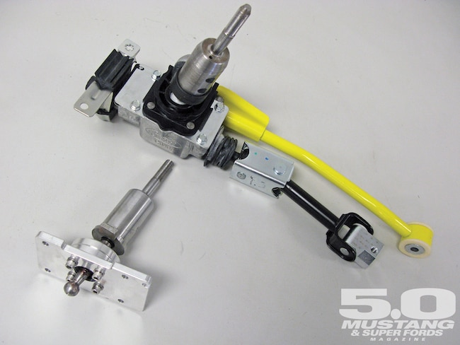 M5lp 1101 02 O Steeda Tri Ax Shifter 2011 Ford Mustang Gt Factory Shifter Unit