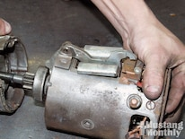 Mump_0912_07_o 1965_ford_mustang_starter Drive_housing_and_brush_end_plate_seperated