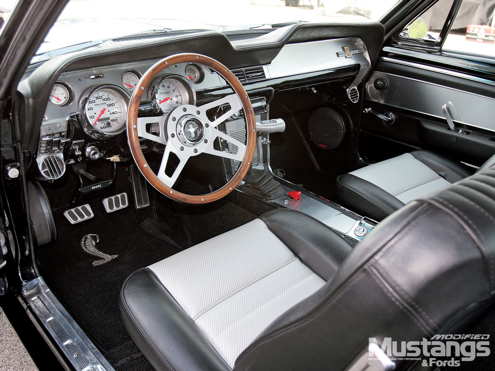 Mdmp 1002 12 1967 shelby gt500 replica interior