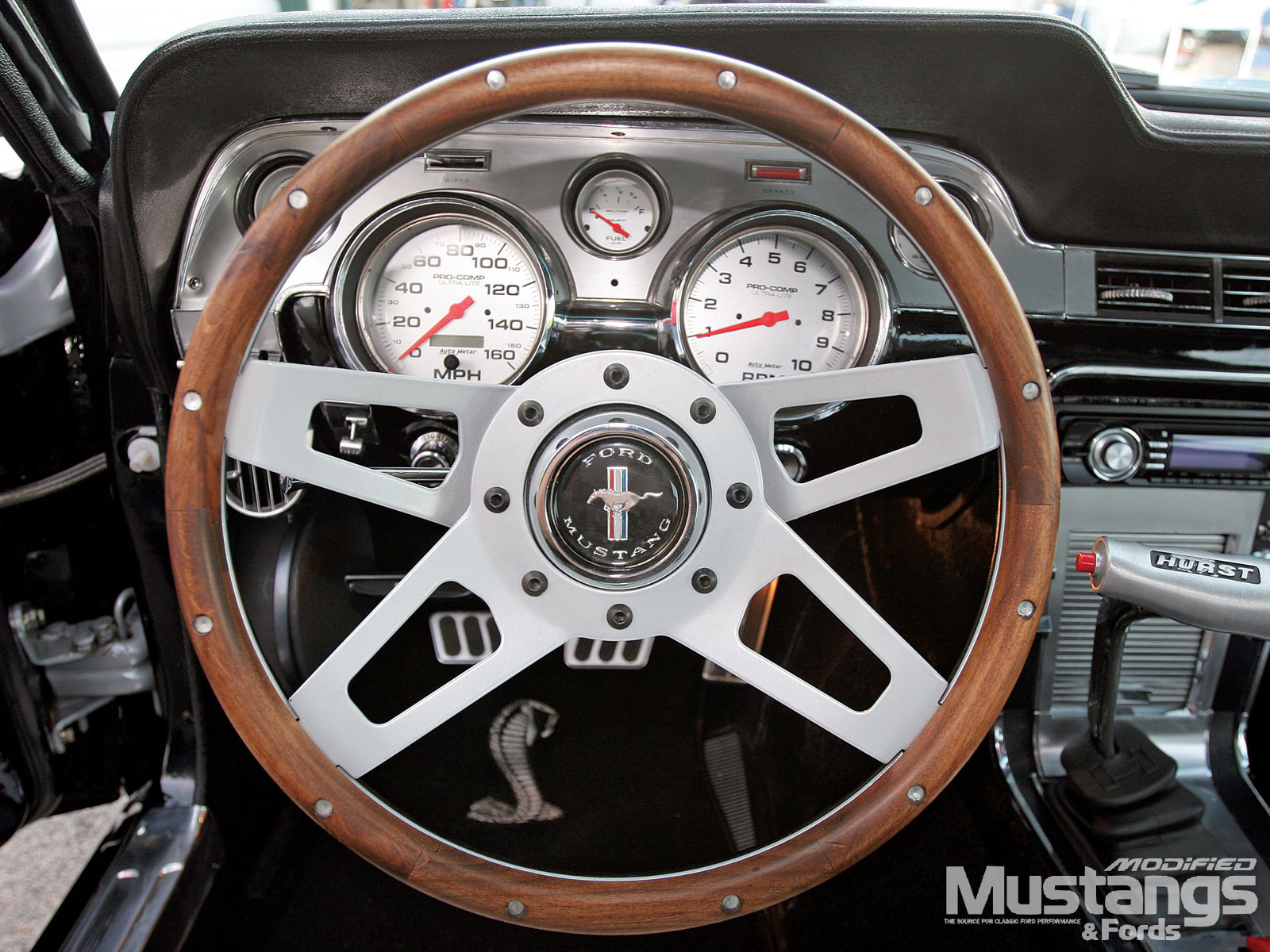 1967 Shelby Gt500 Replica Shelby Steering Wheel