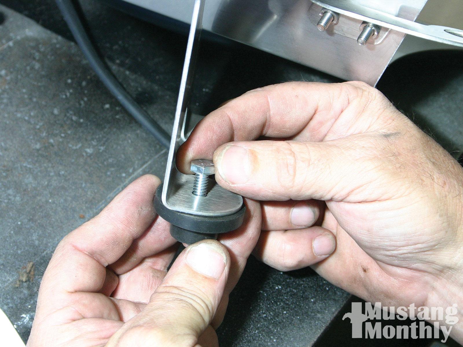 Mump 1103 15 O Steeda Ultimate Induction Pak Installation Airbox Brackets