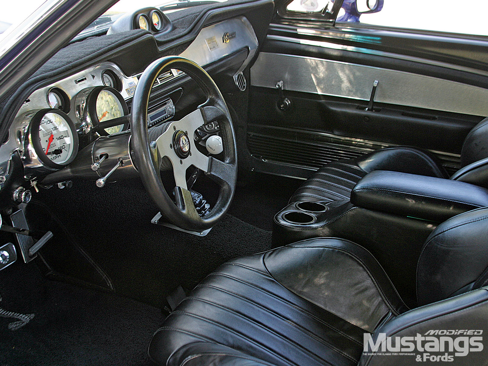 1967 Mustang Coupe Leather Interior
